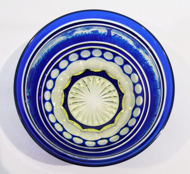 Val St Lambert Bowl and Underplate