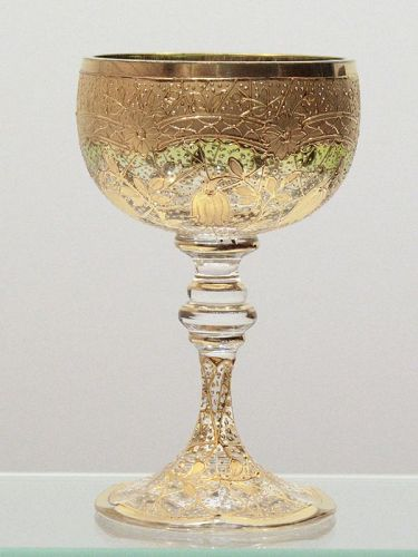 Moser Style Wine Glass