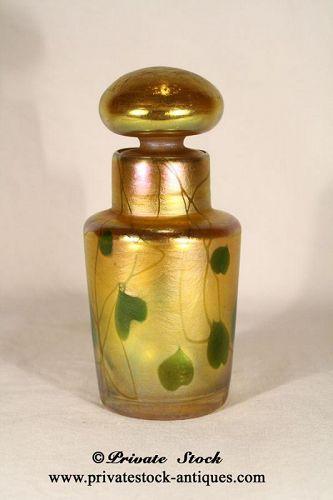Tiffany Favrile Cologne Bottle