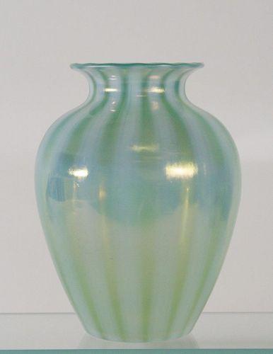 Steuben Oriental Jade Vase