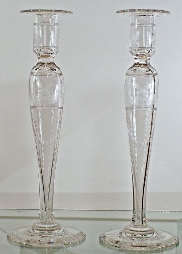 """Pairpoint """"Rockford"""" Candlesticks"""