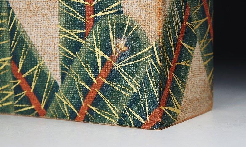 Unusual Ito Motohiko New-Years Vase