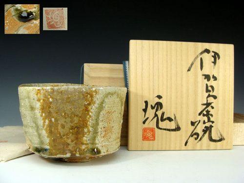 Tsujimura Kai Iga Chawan