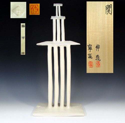 Architectural Ceramic Sculpture by Fujihira Shin