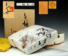 Lidded Shiro Hagi Pottery Box by Miwa Kazuhiko