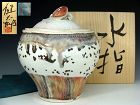 Contemporary Mizusashi Water Container by Kawabata Kentaro