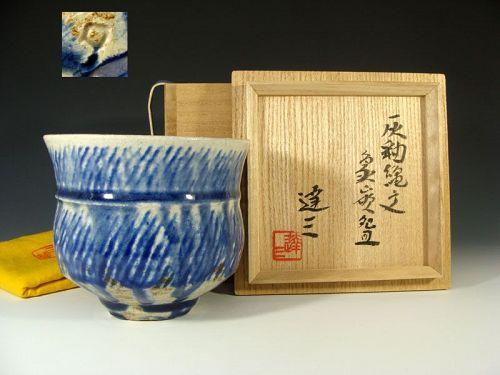 Spectacular LNT Shimaoka Tatsuzo Chawan Tea Bowl