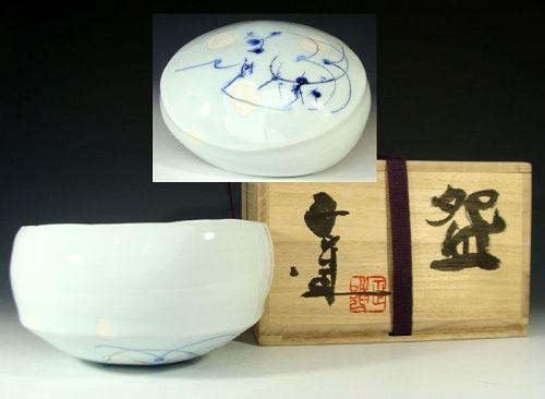 Yoshikawa Masamichi Hakuji White Tea Bowl