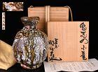 Iconic Oni-Shino Ko-Tsubo Vase by Tsukigata Nahiko