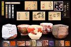 Contemporary Japanese Sake Cups Box Set by Five International Stars !