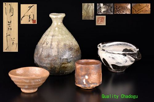 Unprecedented Full Sake Set by Tsujimura Shiro Please See !!!