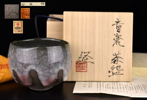 Wonderful Seij Chawan Tea Bowl by Wakao Kei