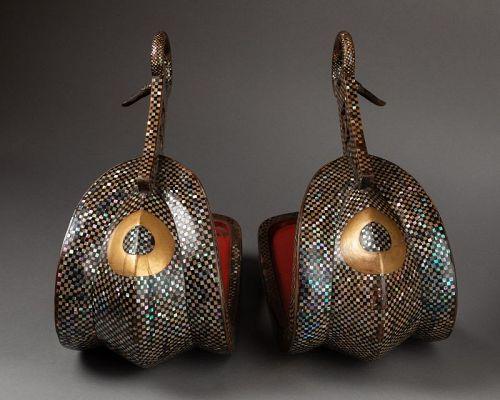 Pair of stirrups, Japan Edo, 18th century