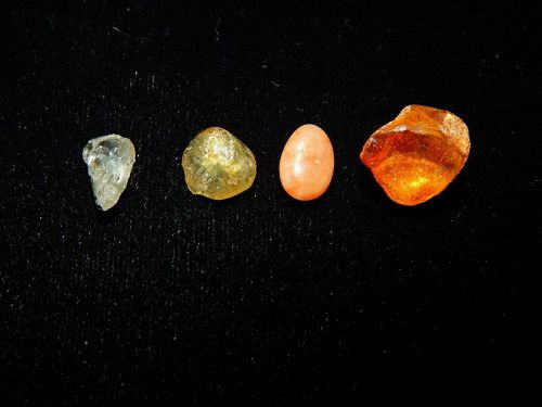 Pre-Columbian Collection of Amber and Stone, Very Rare