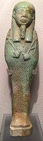 Detailed Egyptian Ushabti! Ca. 350 B.C.