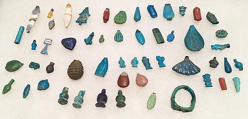 Large Lot of 53 Amarna Amulets!