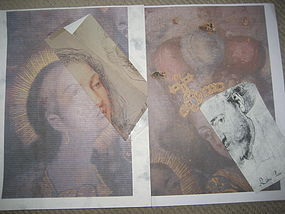 Overlay Images Matches Drawings by Rubens with GILDED DESIGNS