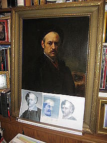 James Whistler Self-Portrait as Rembrandt