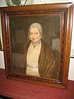 19th c Sheldon Peck Portrait of a Lady