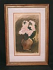Original Acquatint by Georges Braque, Bouquet of Flower