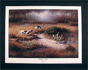 Limited Edition Print by Dennis Shmidt, Calling a Flush
