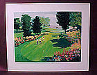 Mark King serigraph, S/N, from Golf II