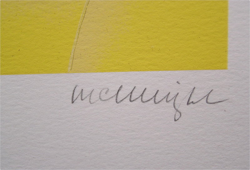 Beautiful Serigraph by Thomas McKnight, La Jolla