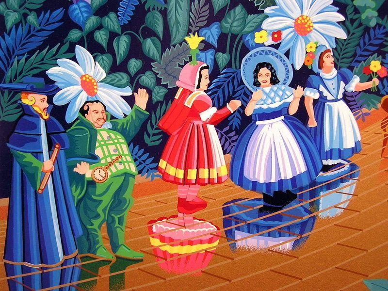 Original Serigraph, Melanie T. Kent, The Wizard of Oz