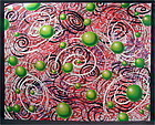 Original Serigraph by Kenny Scharf, Space Balls, Limited Edition