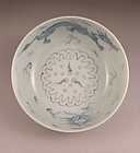 Very Lovely Japanese Ko Imari Bowl w/Dragon 19c