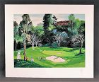 Serigraph by Mark King, Doughnut Hole, Golf II, S/N