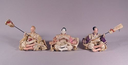 Nicely finished Japanese Hina Dolls, Jicho
