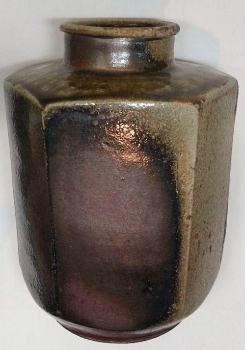 Very Attractive Japanese Tanba Yaki Jar by 1st Ichino Shinsui