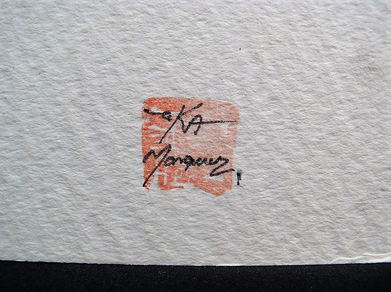 Rare Original Work #1 by World Renown, Zeka Marquez, Signed and sealed