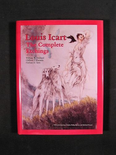 Louis Icart, The Complete Etchings, Brand New Book, Never been Used