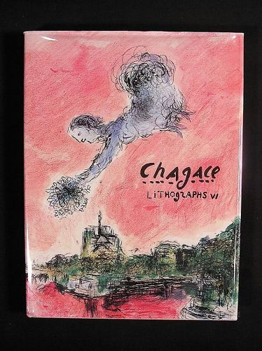 Chagall Lithographs VI (1980-1985), 1986 1st American Edition
