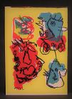 Original Lithograph by Karel Appell #73 from 1 cent Life Book