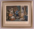 Rare Antique Lithograph by Napoleon Thomas Murillo