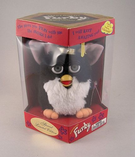 Rare Electric Furby Graduation Model 70-886 Special Limited Edition