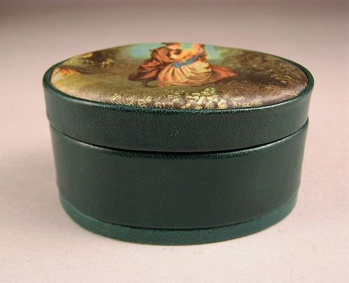 Unique Italian Leather Small Jewelry Box