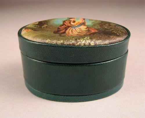 Unique Italian Leather Small Jewelry Box