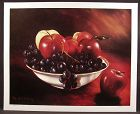 Flemish Realism Limited Edition Print by David E. Weaver, Bowls Apples