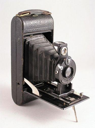 Rare Classic German Camera The Goerz Roll Film Tengor