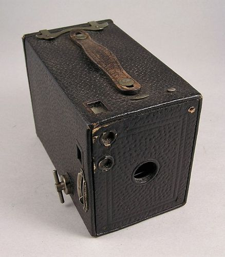 No.2 Brownie Camera model E by Eastman Kodak, made in Canada