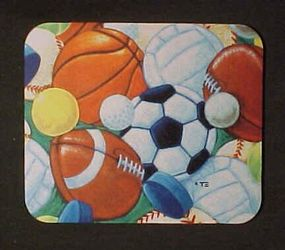 Mouse Pad for Brohter's Gift, Sports fan