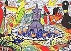 Serigraph Rodney Alan Greenblat (1960- )