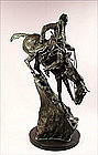 Bronze Sculpture, Mountain Man by Remington