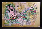 """Original Lithograph by Charles Cobelle, """"Horse w/rider"""""""