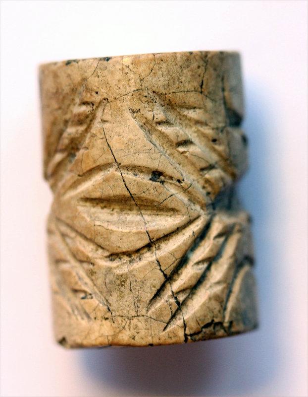Massive Mesopotamian Jemdet Nasr cylinder seal!