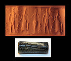 Nice Babylonian cylinder seal, early 2nd mill. B.C.!!